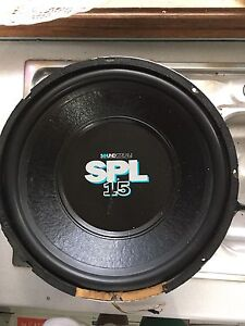 "SOUNDSTREAM SPL 15"" SUB St Marys Penrith Area Preview"