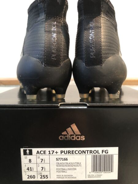 new style 47f02 f31d9 BRAND NEW ADIDAS ACE 17 PURE CONTROL FG Size 8 | Men's Shoes ...
