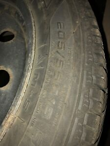 GOODYEAR WINTER TIRES & RIMS FOR SALE!!!