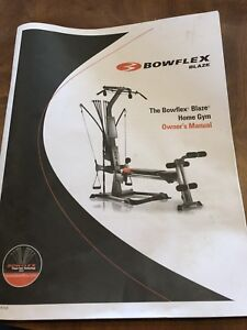 Bow flex and Elliptical