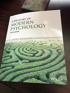 A History of Modern Psychology - Fifth Edition.