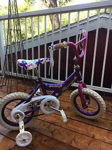 "14"" bicycle with training wheels"