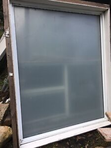 Fixed paneled white window Tuggerah Wyong Area Preview