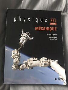 Physique XXI tome A: Mécanique
