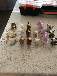 Little puppy and little kitty collectables
