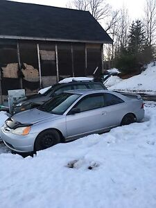 Parting out 2003 Civic coupe