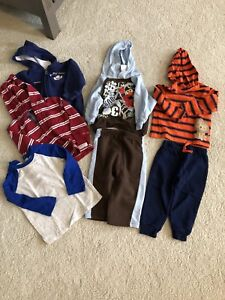 Box of gently used Boys clothes 18-24 months
