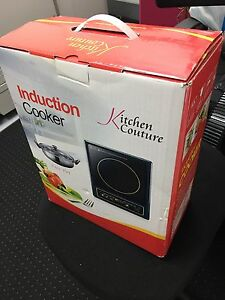 Brand new portable induction cooktop with pot and  lid Strathfield Strathfield Area Preview