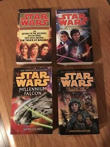 Star Wars paperback novels $4 each