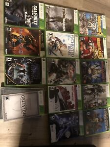 Xbox games 4 for 25$ or trades for PS4 game