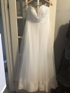 Brand new /never worn wedding dress