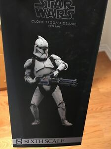 Star Wars 1/6 sideshow clone trooper