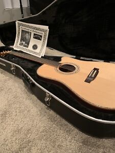 Zager ZAD900ce with Fishman Aura Pro New Condition