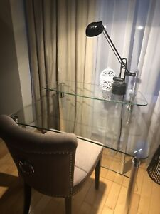 Bureau en verre Maison Corbeil