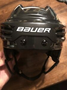 Kids adjustable Bauer hockey helmet