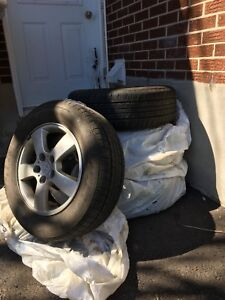 215/65r16 Summer tires plus Mags