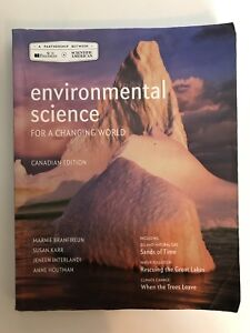 Environmental Science for a Changing World (1st year Dalhousie)