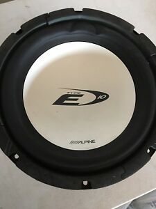 Alpine Type E Subwoofer