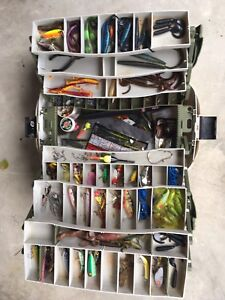 Tackle Box with Assorted Fishing Tackle