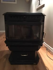 Kozi Bay Window pellet stove