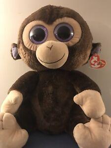 Giant monkey beanie boo
