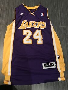 Adidas Youth MEDIUM/ Women's SMALL Kobe Bryant LA Lakers Jersey