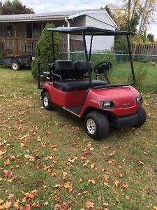 Yamaha golf cart electric