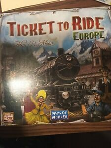 """Ticket to Ride"" game"