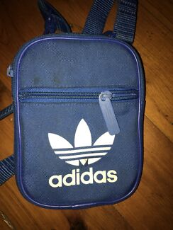 Blue adidas bag/satchel