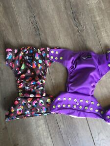 Funky Fluff cloth diapers