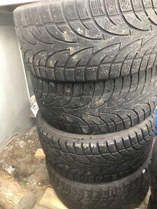 4 pneus hiver 275/40/20