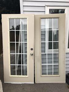 Double front / patio doors