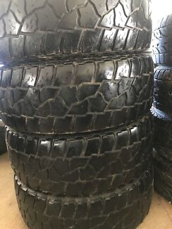 4x4 Mickey Thompson Used Tyres - Full Set