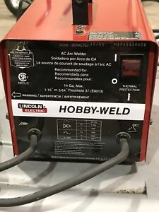 Arc welder. Excellent condition. Lincoln Electric. $100
