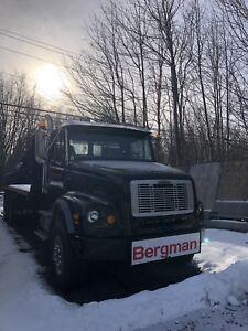 NEW PRICE 2000 Freightliner FL112 Boom Truck