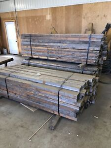 Reclaimed wood from stratford festival