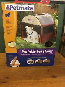 Petmate portable pet home. Medium.