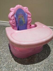 Princess booster seat