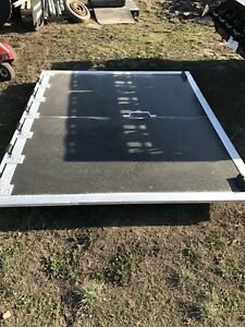 Enclosed trailer ramp doors 7'