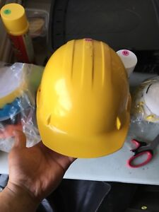 Construction Safety Helmet Worn Only Once / Like New