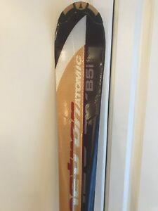 Atomic Metron B5i skis - Salomon RS8 boots