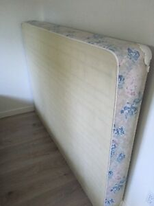 Free double bed spring box and metal frame