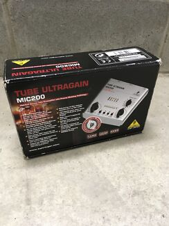 Behringer Tube Ultragain MIC200 with better bulb