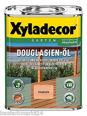 Xyladecor Douglasienöl 10 x 750 ml Douglasien-Öl 7,5 Liter Terrassenöl Gartenöl