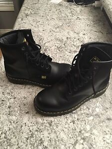 Dr. Martens steel toe work boots