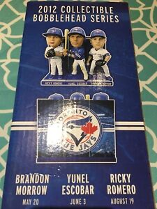 3 2012 jays bobble heads