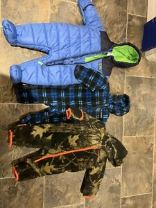 Baby snowsuit and columbia bunting