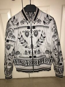 100% Authentic Brand New reversible Versace Bomber Jacket size M
