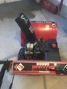 "MasterCraft 10hp, 28"" Snowblower"