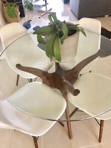 Matt Blatt Dining Table and 4 x Chairs